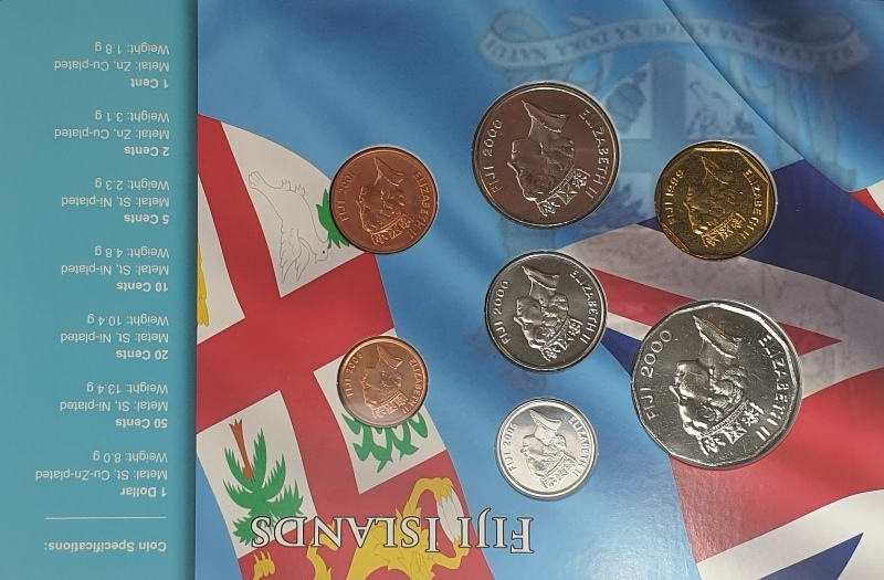Coins Set - Fiji Island