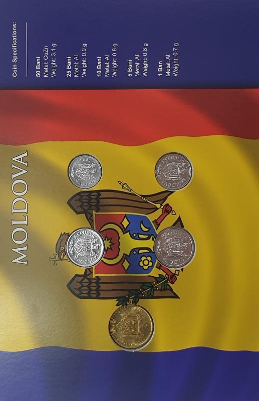 Coins Set - Moldova