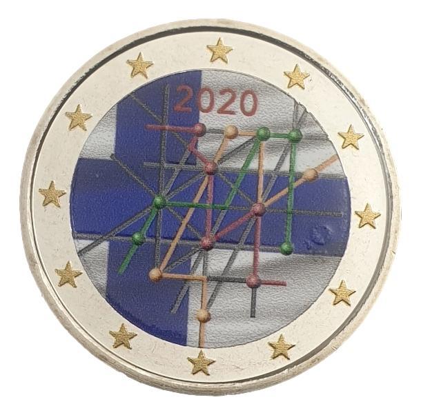 Finland - 2 Euro 2020, Color, UNC
