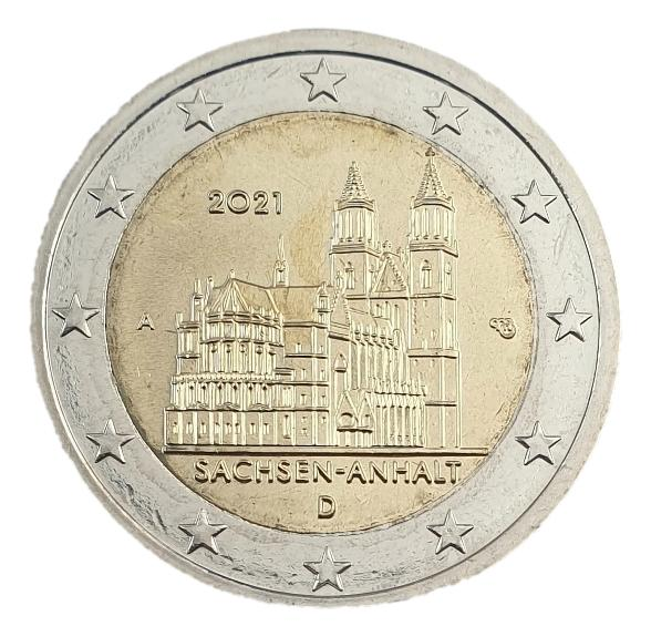 Germany - 2 Euro 2021 A, UNC