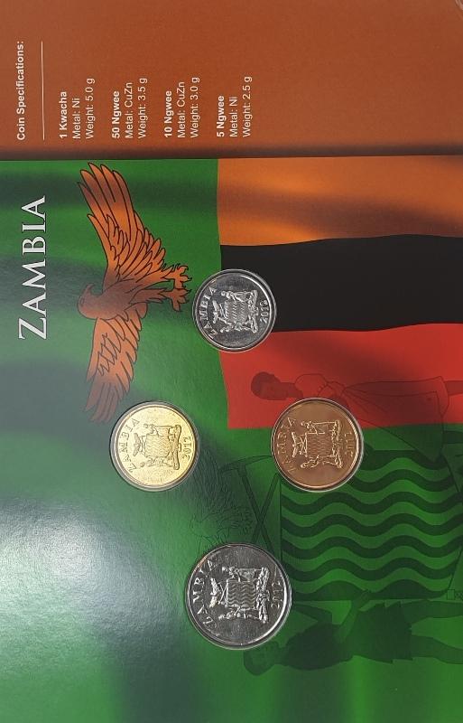 Coins Set - Zambia
