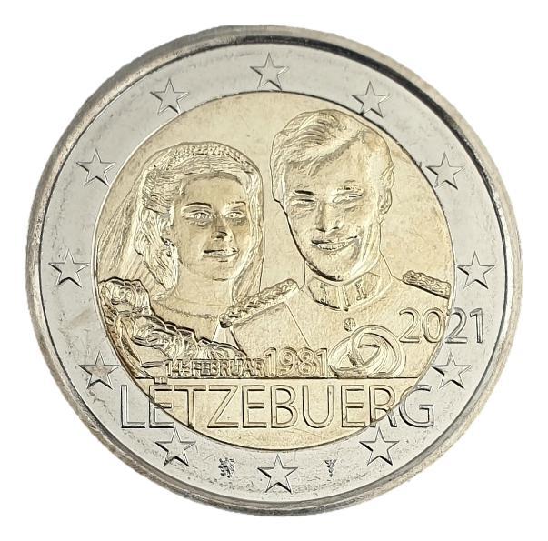 Luxembourg - 2 Euro 2021 C, UNC