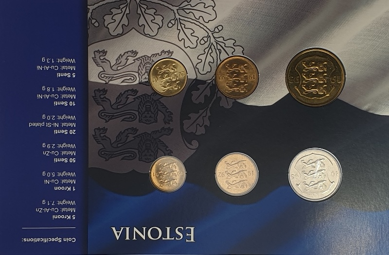 Coins Set - Estonia