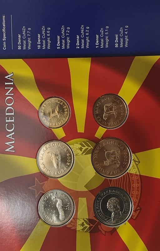 Coins Set - Macedonia
