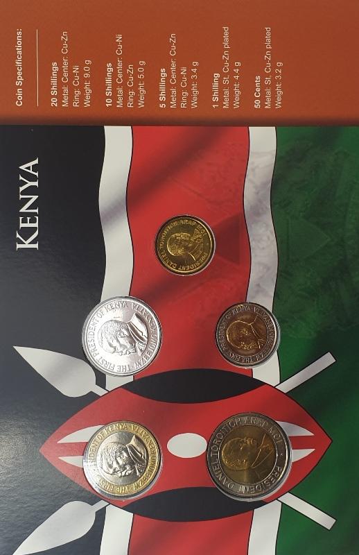 Coins Set - Kenya