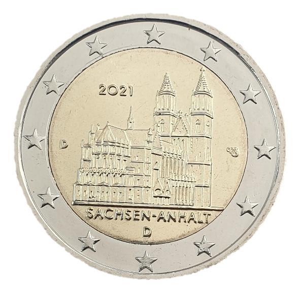 Germany - 2 Euro 2021 D, UNC
