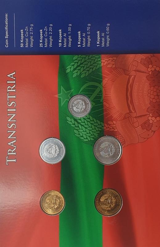Coins Set - Transnistria