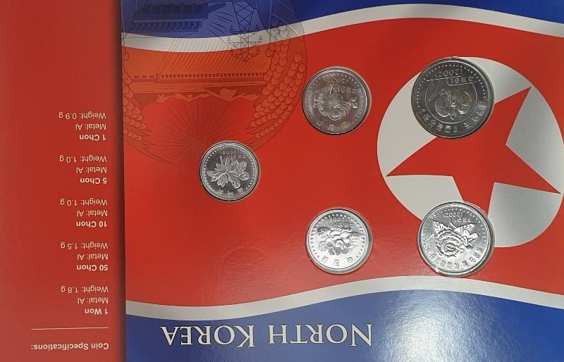 Coins Set - North Korea