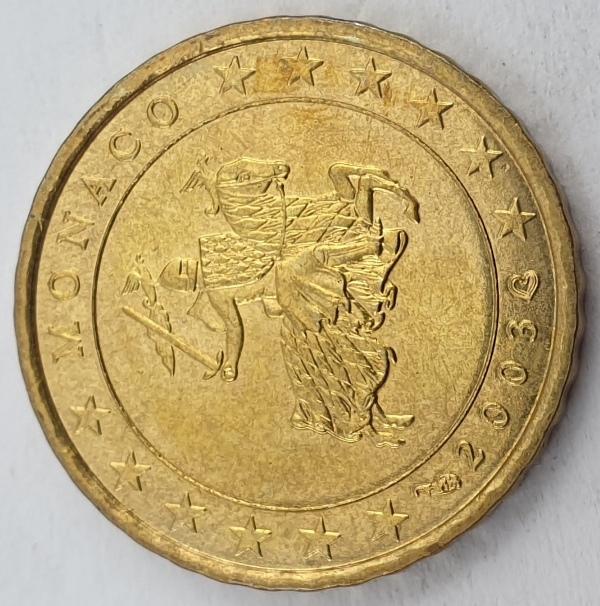 Monaco - 10 Euro Cent 2003, Rainier III, UNC