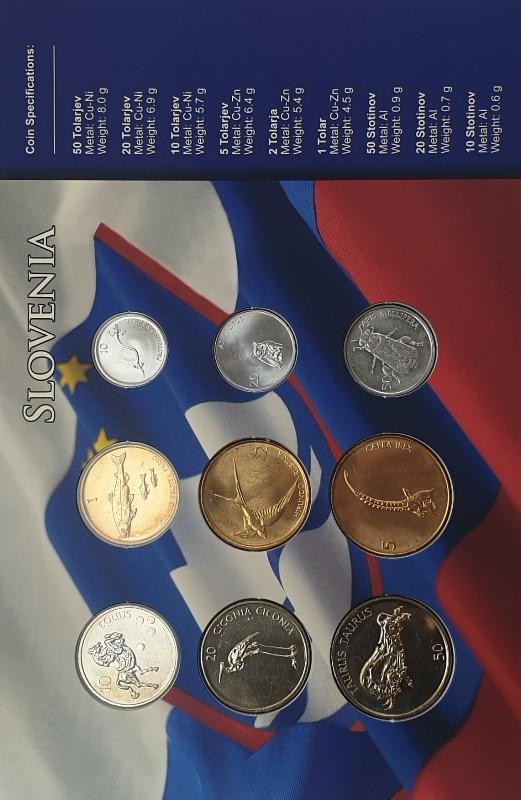 Coins Set - Slovenia