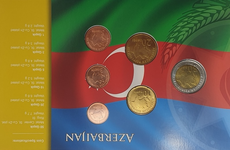 Coins Set - Azerbaijan
