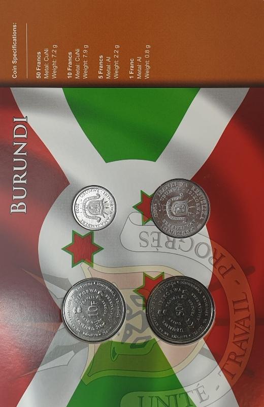 Coins Set - Burundi