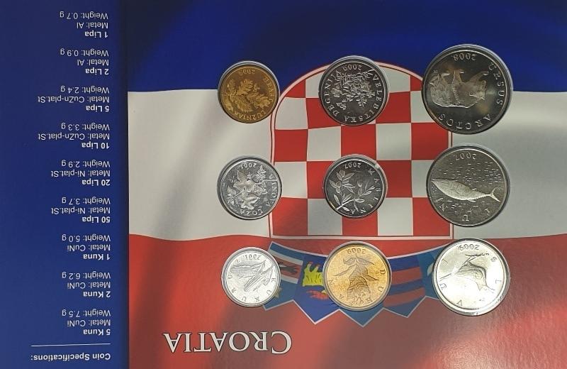 Coins Set - Croatia