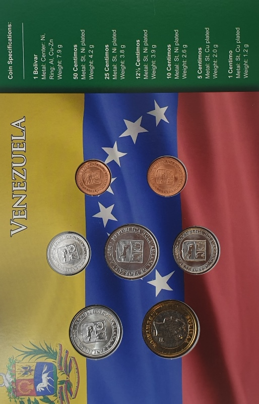 Coins Set - Venezuela