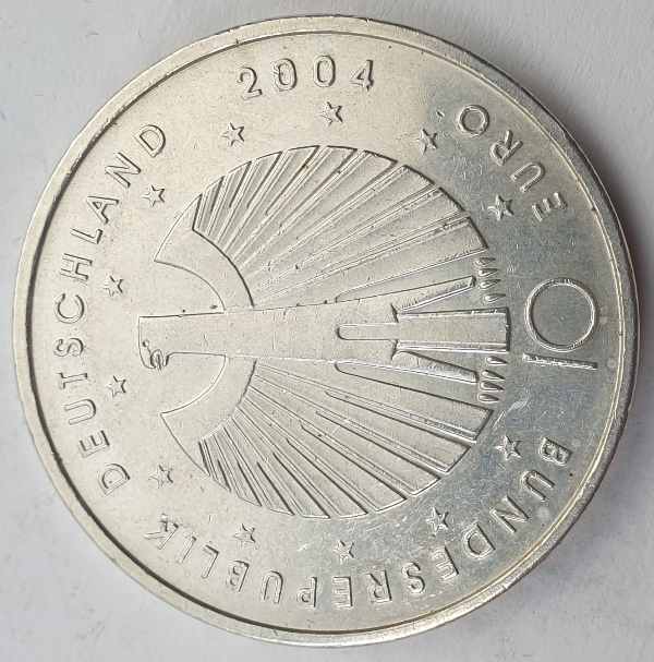 Germany - 10 Euro 2004, FIFA 2006 World Cup, Silver