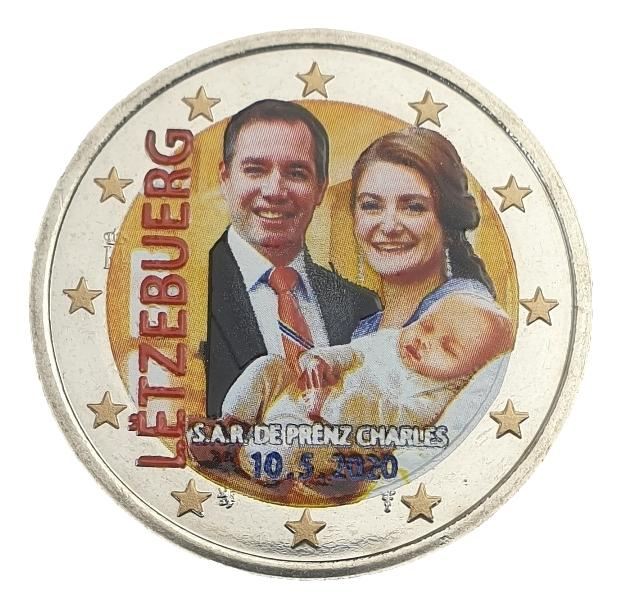 Luxembourg - 2 Euro 2020, Color, UNC