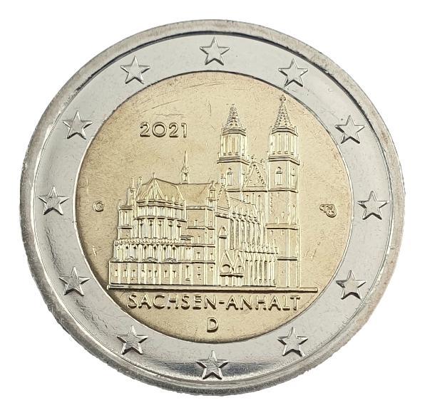 Germany - 2 Euro 2021 G, UNC