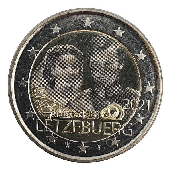 Luxembourg - 2 Euro 2021 D, UNC