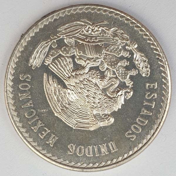 Mexico - 5 Pesos 1948, Silver