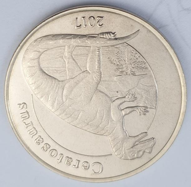 Mayotte - 1 Franc 2017 (Ceratosaurus)