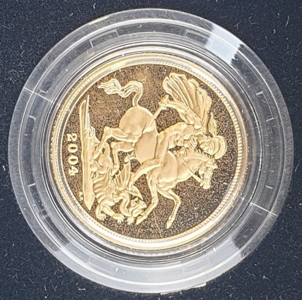 England - 1 Sovereign 2004, Gold Proof