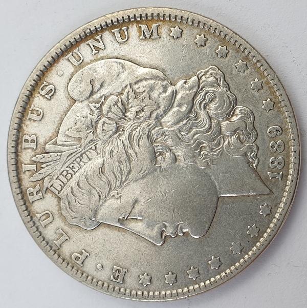 "USA - 1 Dollar 1889, ""Morgan Dollar"", Silver"