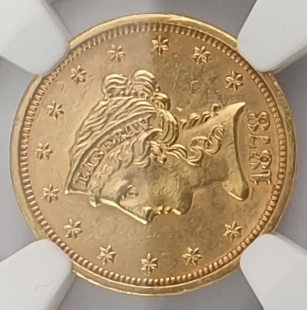 USA - 2 and Half 1878 S (UNC DETAILS), Cleaned