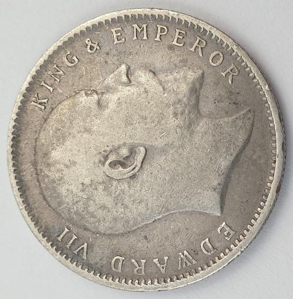 India - 1 Rupee 1903, Edward VII, Silver