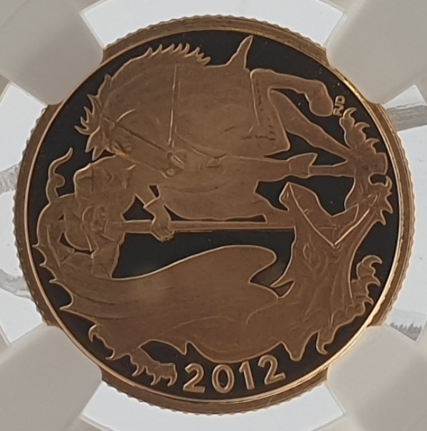 England - 1 Sovereign 2012, Queen' s Diamond Jubilee, (PF 66 ULTRA CAMEO)