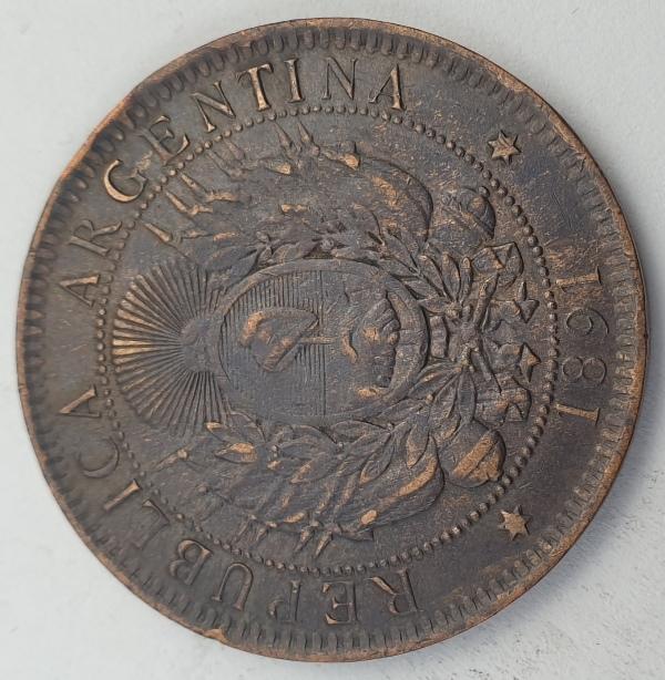Argentina - 2 Centavos 1891