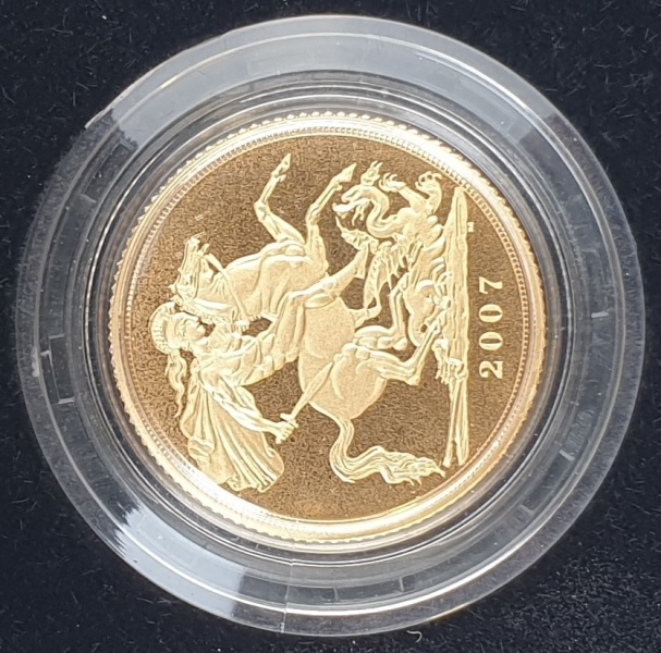 England - 1 Sovereign 2007, Gold Proof