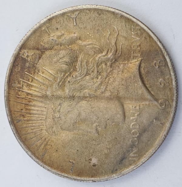 """USA - 1 Dollar 1923, """"Peace Dollar"""", Silver"""