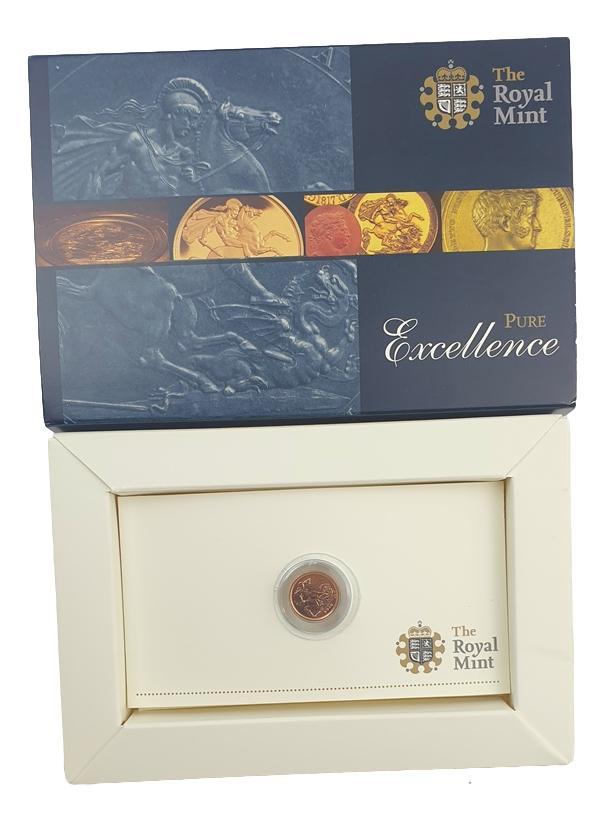 England - Quarter Sovereign 2010, Gold Proof