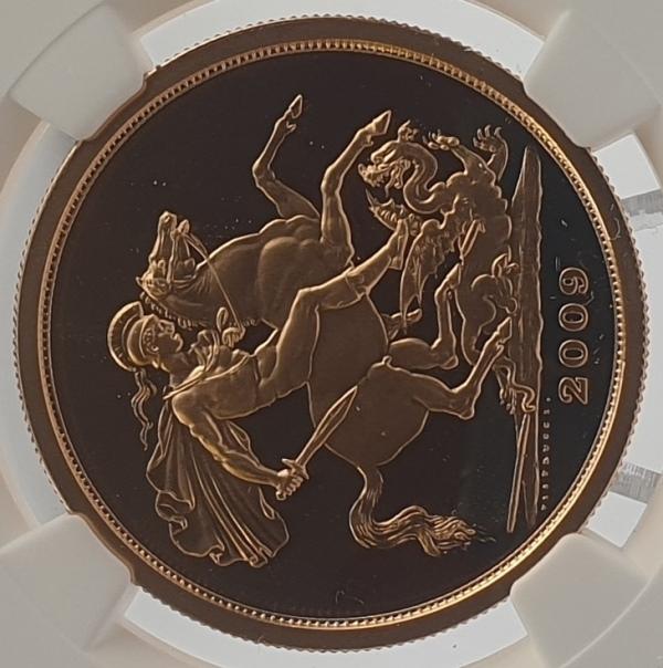 England - 5 Sovereign 2009 (PF 69 ULTRA CAMEO), G. Britain