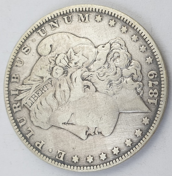 "USA - 1 Dollar 1879, ""Morgan Dollar"", Silver"