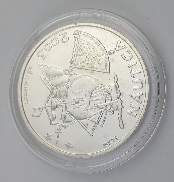 Portugal - 10 Euro 2003, Ibero - America - Nautics, Silver