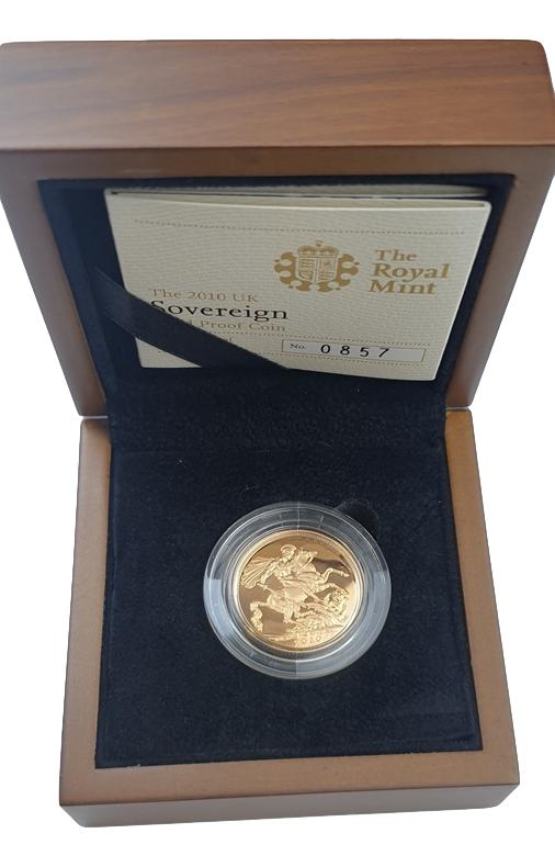 England - 1 Sovereign 2010, Gold Proof