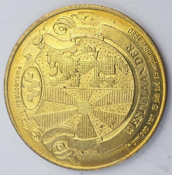 Westvlaander - Medal 1980
