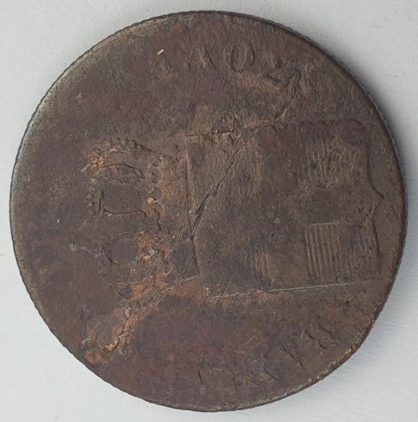 Greece - 10 Lepta 1846, Othon
