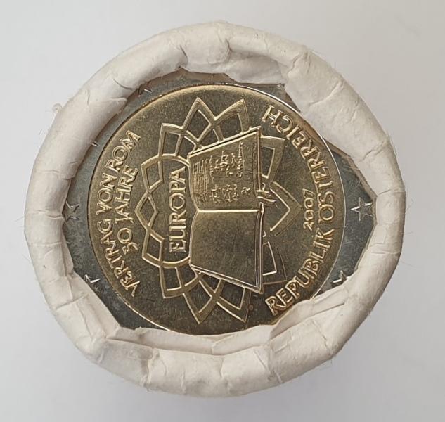 Austria - 2 Euro 2007, Roll (25 pcs), UNC