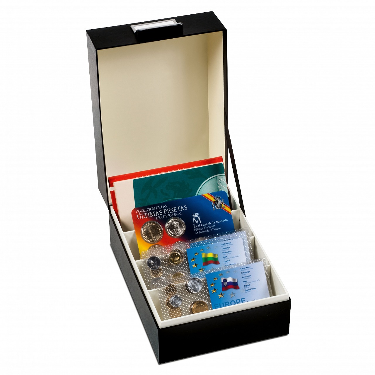 Lighthouse - Logik Archivbox box C6, interior size 180 X 126 X 270 mm, black