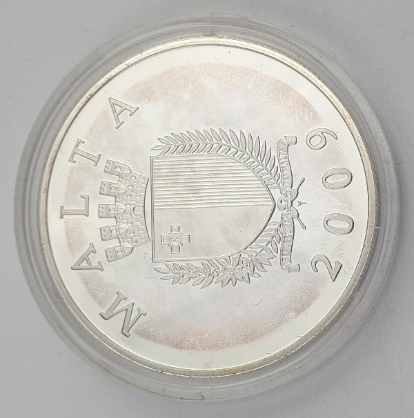 Malta - 10 Euro 2009, La Castellania, Silver