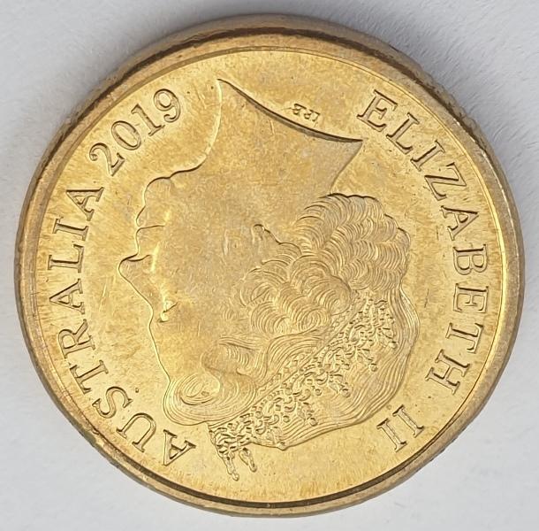 Australia - 2 Dollars 2019, Elizabeth II