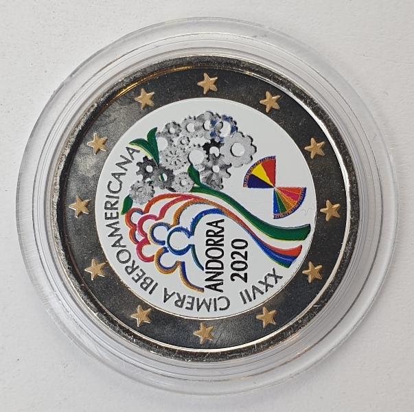 Andorra - 2 Euro 2020, Color UNC