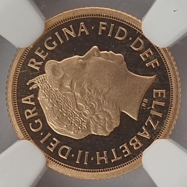 England - Quarter Sovereign 2012 (PF 70 ULTRA CAMEO), Queen' s Diamond Jubilee