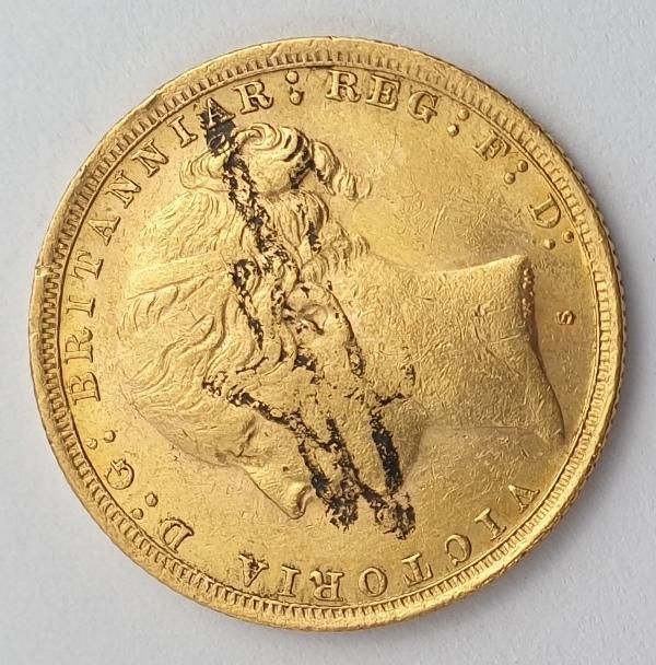 England - 1 Sovereign 1887 (S) AUNC, Victoria
