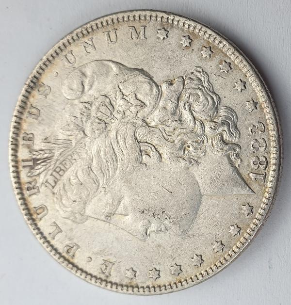 "USA - 1 Dollar 1883, ""Morgan Dollar"", Silver"