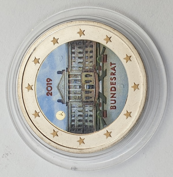 Germany - 2 Euro 2019 A, Color, UNC
