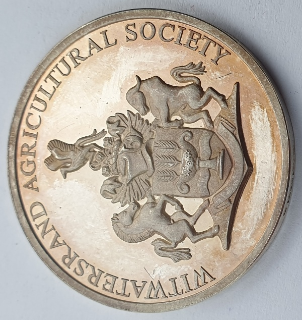 Greece - Medal - Witwatersrand Agricultural Society (Awarded To Republic Of Greece Display Of National Products Rand Show 1988)