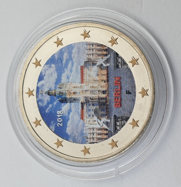 Germany - 2 Euro 2018 F, Color, UNC